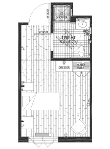Creekside Cottage Floor Plan